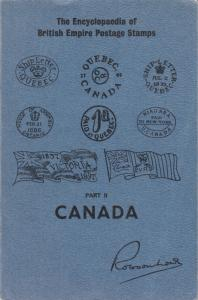 Encyclopaedia of British Empire Postage Stamps, Part II, Canada, gently used.