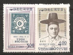Korea SC 454-5 Mint, Never Hinged