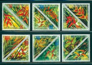 Surinam #1167a-1177a  Mint NH  Scott $25.05   6 Pairs