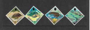 TURTLES- CAYMAN ISLANDS #283-286 MLH