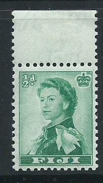 Fiji  QE II SG 298  MUH margin hinged