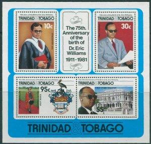 Trinidad and Tobago 1986 SG721 Dr Eric Williams MS MNH