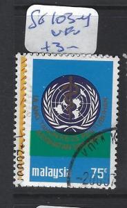 MALAYA  MALAYSIA   (P3007BB)   SG 103-4  UN     VFU
