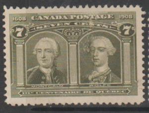 Canada Scott #100 Stamp - Used Single
