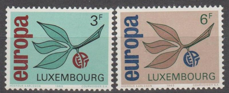 Luxembourg #432-3 MNH VF (ST1832)
