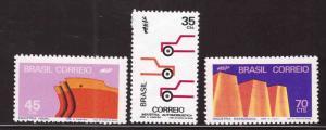Brazil Scott 1227-1229 MNH** stamp set