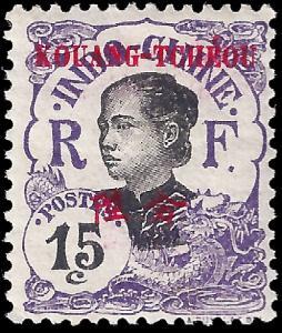 France-Kouang Tcheou 1908 YT 23 mlh