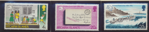 Pitcairn Islands Stamps Scott #141 To 143, Mint Never Hinged - Free U.S. Ship...