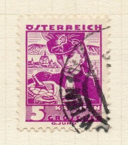 Austria 1934 Early Issue Fine Used 5g. NW-120197