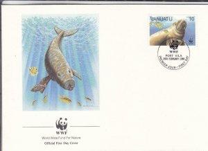 1988, Vanuatu: Dugong, FDC (E7621)