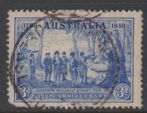 Australia Sc#164 Used