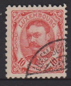 Luxembourg Sc#82 Used