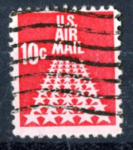 United States - SC#C72 Airmail - USED -1968 - Item USA238