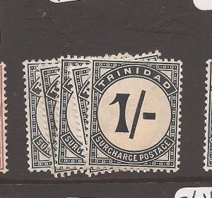 Trinidad Postage Due SG D13-7 MOG (2axz)