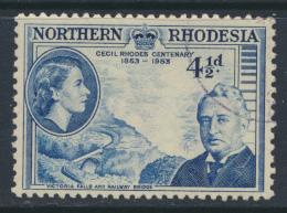 Northern Rhodesia  SG 57 SC# 57 Used / FU - Cecil Rhodes - see details
