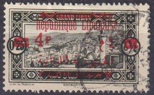 Lebanon #104 F-VF Used  (S10275)