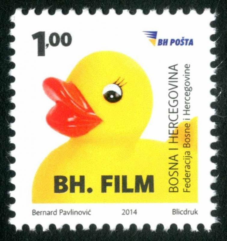 BOSNIA & HERZEGOVINA/2014, Cinematography in B&H - Little Yellow Duck, MNH
