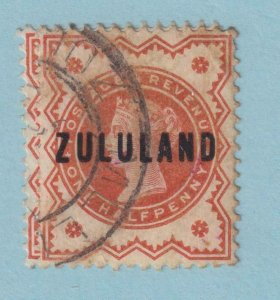 ZULULAND  1 USED  NO FAULTS EXTRA FINE!
