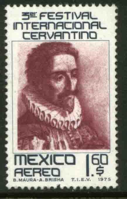 MEXICO C460, 3rd International Cervantes Festival. MINT, NH. F-VF.