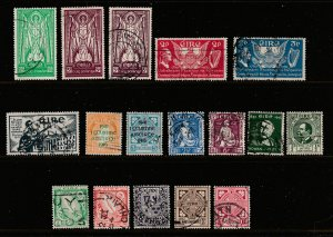 Ireland a small used lot of earlies