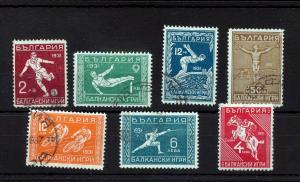 BULGARIA 1931 Sport Cycling Soccer Used High Catalogue (GX 823s