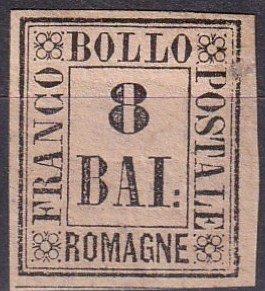 Italy Romagna #8  Unused CV $210.00   (Z7969)