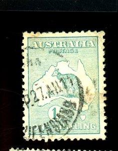 AUSTRALIA #10 USED FVF Cat $29  Cat $29