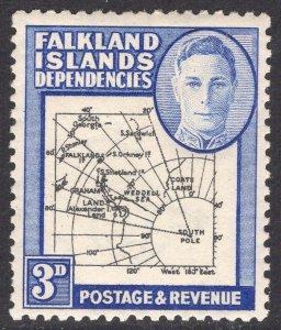 FALKLAND ISLANDS SCOTT 1L4