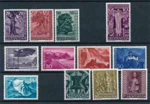 Liechtenstein 1959 Complete Year Set MNH