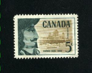Canada  379  -2   used VF PD 1958