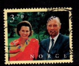 Norway - #1158 King Harold & Queen Sonja - Used