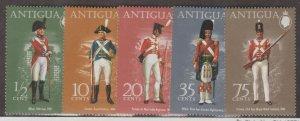 Antigua Scott #329-333 Stamp - Mint NH Set