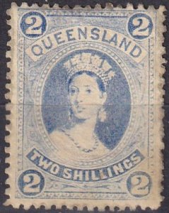 Queensland #79   F-VF Unused  CV $300.00  (Z6931)