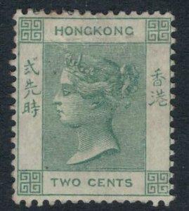 Hong Kong #37*  CV $32.50