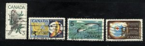 Can #478-81    u   VF 1968 PD