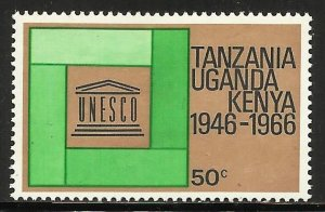 Kenya, Uganda & Tanzania 1966 Scott# 169 MH