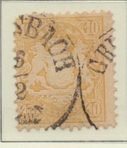 Bavaria (German State) Stamp Scott #28, Used - Free U.S. Shipping, Free World...