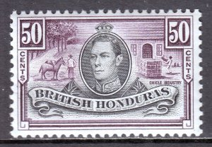 British Honduras - Scott #123 - MH - SCV $9.00
