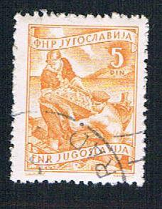 Yugoslavia 380 Used Fishing (BP16018)