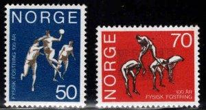 Norway Scott 566-567 MH* 1970 set
