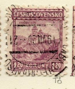 Czechoslovakia 1926-27 Issue Fine Used 1.20k. NW-148602