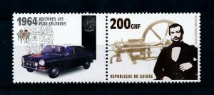 [100218] Guinea 2002 Classic Cars 1964 Austin 1800  MNH