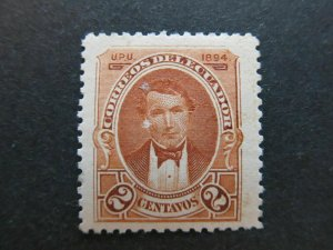 A4P45F24 Ecuador 1894 2c mnh**