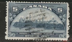 CANADA Scott 202 used 1933 5c Ottawa stamp CV$3.75