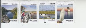 2017 Portugal The Tagus River (4) (Scott NA) MNH
