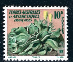 FSAT Antarctic Pringlea Flower issue (SC #11) VF MNH Cat $10...Premier!