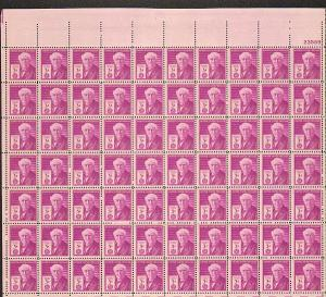 US #945 Mint Sheet Thomas Edison inventors