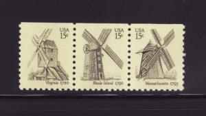 United States 1738-1740 MNH Windmills