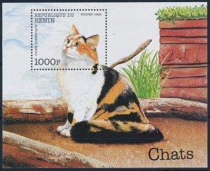 1998 Benin 1062/B42 Cats