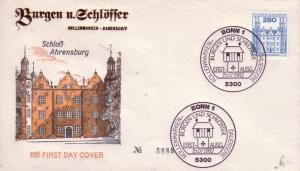 German FDC Sc.# 1314 Castle Ahrensburg L565